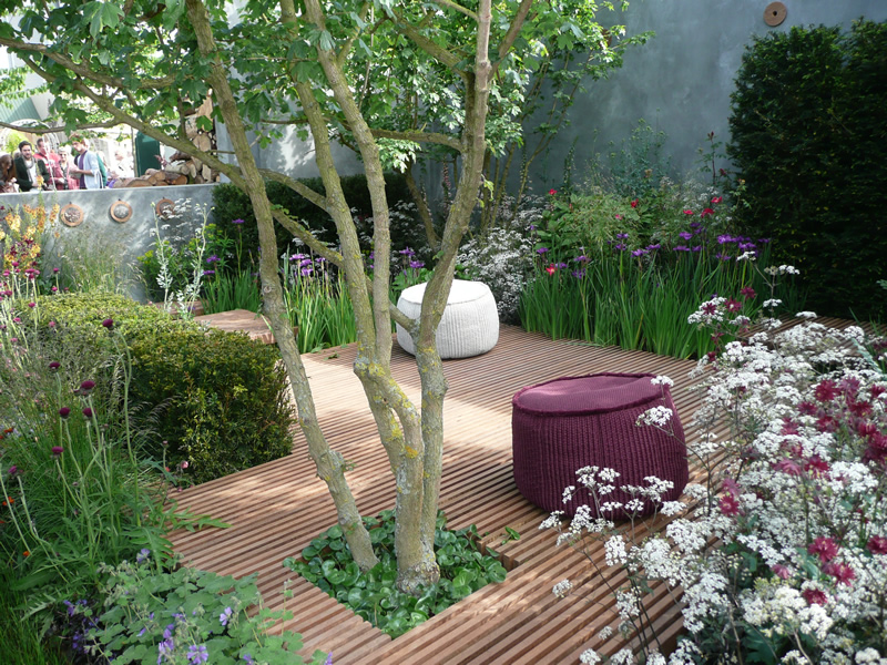 Small garden decoration pictures