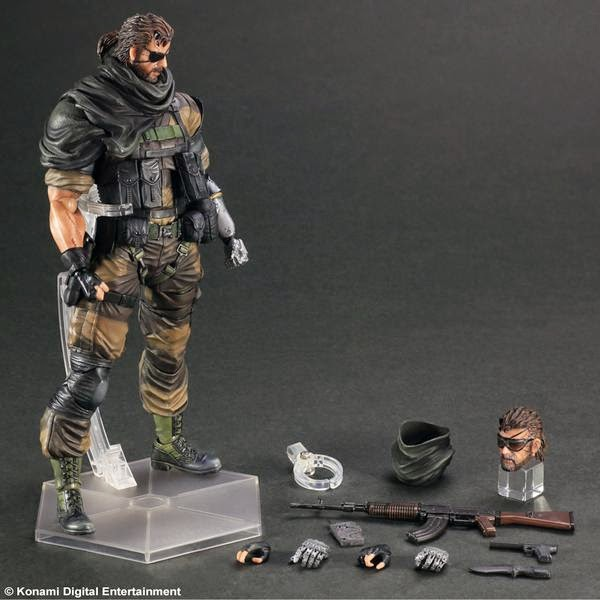 play arts square enix metal gear solid