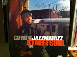 Guru Jazzmatazz Signed By Guru
