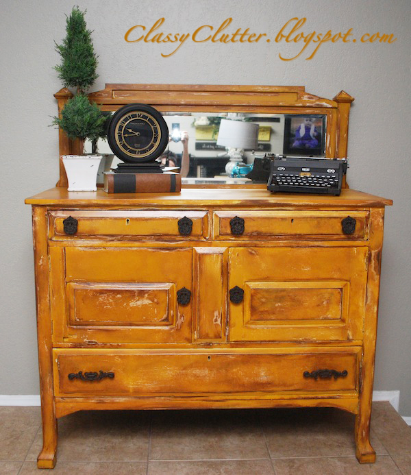 4 fun furniture painting techniques - Classy Clutter