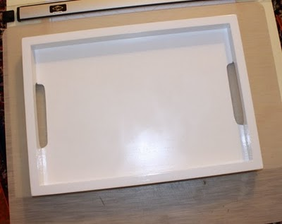Before & After: Tray