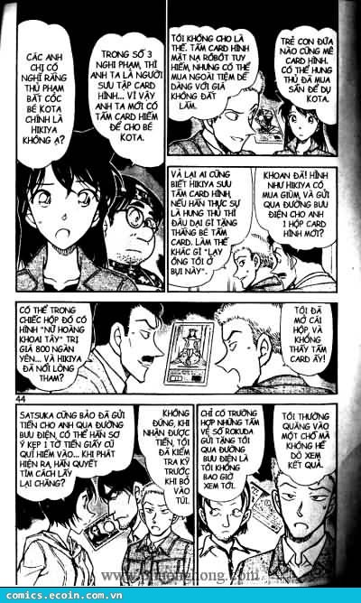 Detective Conan - Thám Tử Lừng Danh Conan chap 513 page 8 - IZTruyenTranh.com