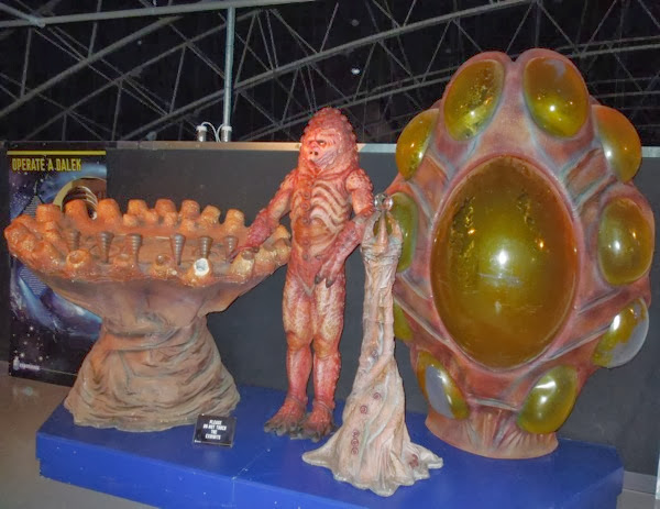 Day of the Doctor Zygon costume props
