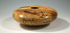 Figured Maple Hollow Vessel