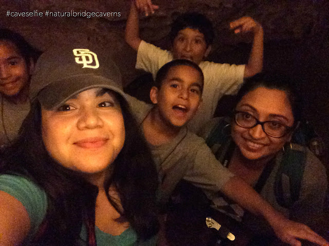 Natural Bridge Caverns Cave Tour and Canopy Course Challenge in San Antonio Texas #caveselfie contest