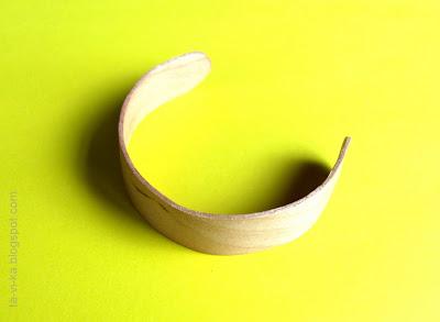 Деревянная заготовка для браслета