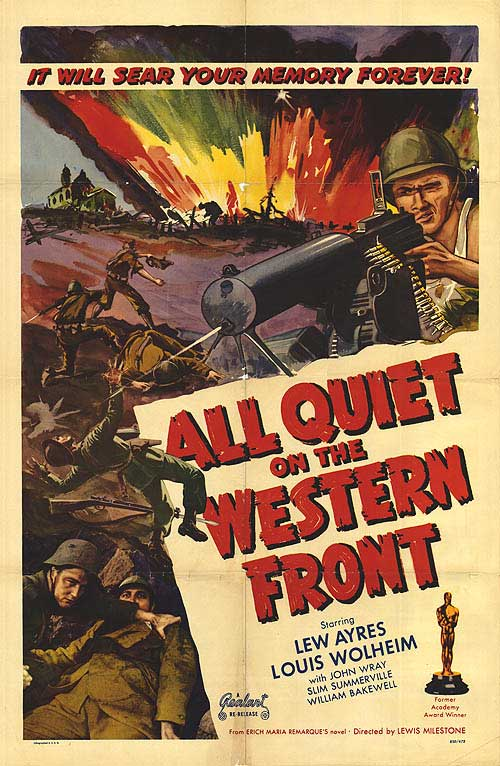 All quiet on the western front essay titles