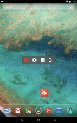 تحميل تطبيق تصوير اوتسجيل شاشة اندرويد بدون روت