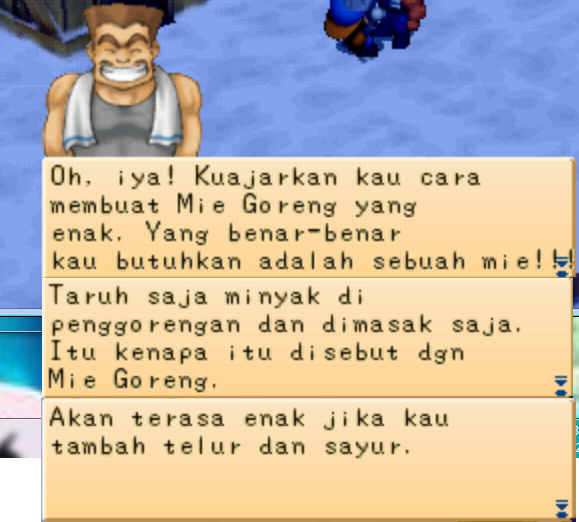 Resep Makanan Langka Pada Game Harvest Moon Back To Nature PS1 Part 3