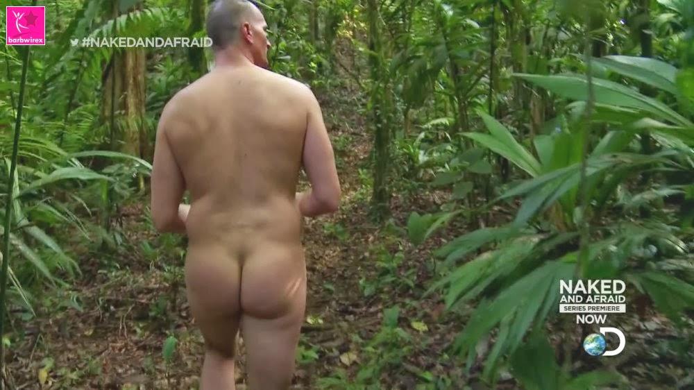 from Roberto naked and afraid jonathan ass