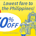 SUPER DISCOUNT cheap flights and promo from  Chebu Pacific Air