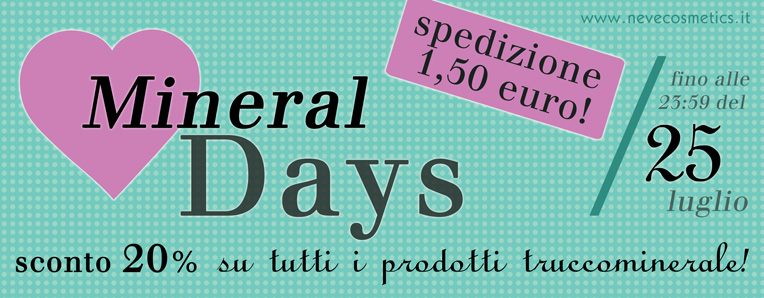 Neve Cosmetics - Mineral Days 2013