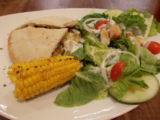 Vegetarian Special: Veggie Pitta As Main, S $10.95