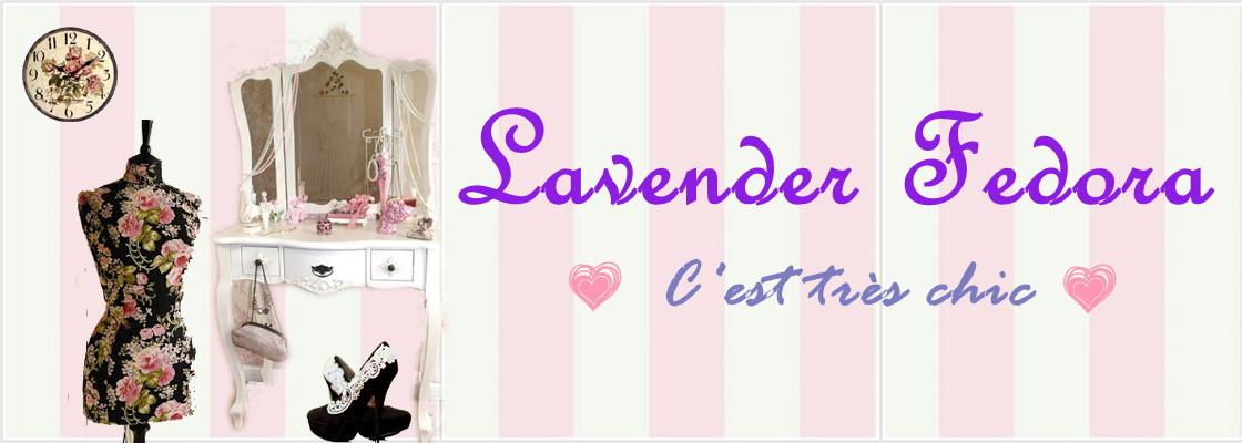 Lavender Fedora