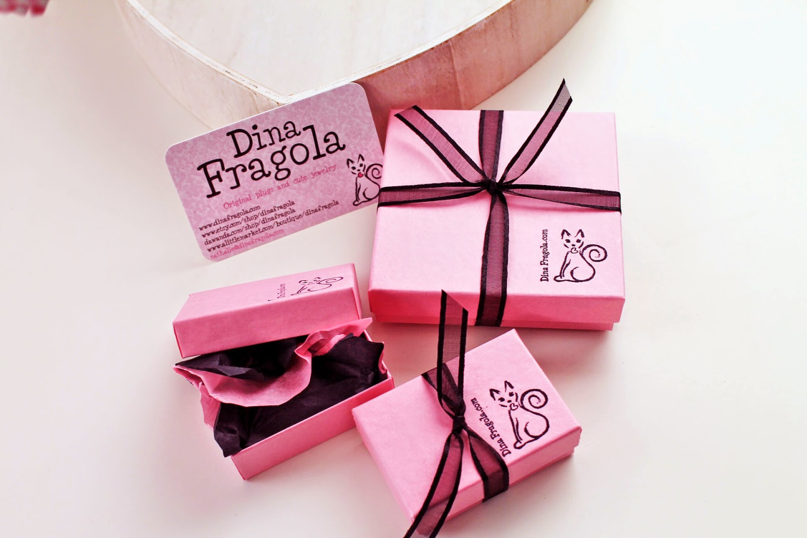 Dina Fragola: New packaging