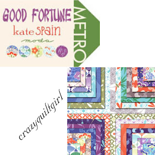 Moda GOOD FORTUNE Fabric by Kate Spain