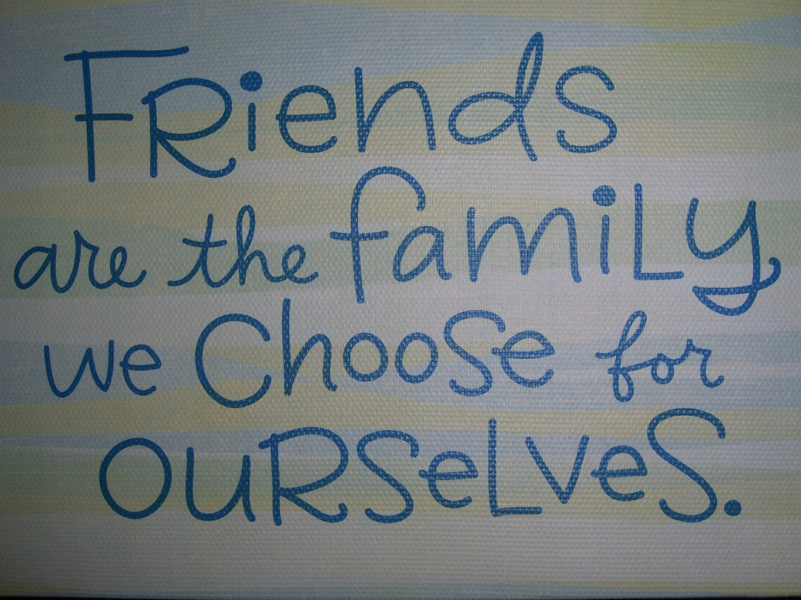 Quotes About Friends Being Family Quotes On Friends Becoming Family Sometimes Family Isn T Blood It