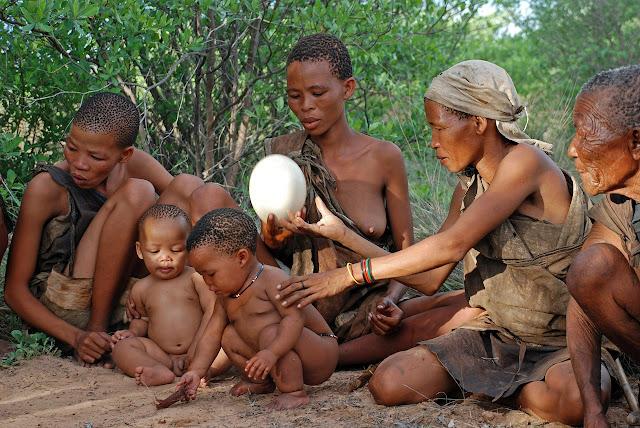 Familie Naturvolk