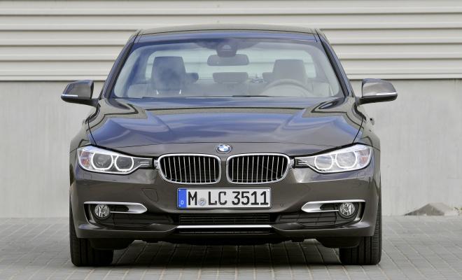 BMW 320d front