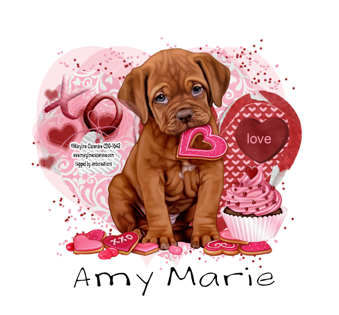 ... Sweet Valentine designed by TammyKat. You can get this sweet kit