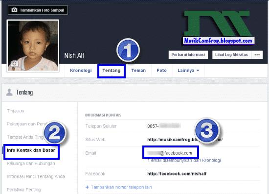 cara mengetahui email facebook dengan mudah