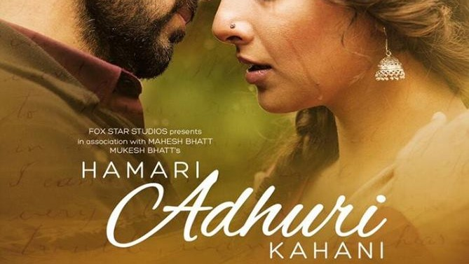 Box Office Collection of Hamari Adhuri Kahani 2015 With Budget and Hit or Flop wiki, Emraan Hashmi, Vidya Balan bollywood movie Hamari Adhuri Kahani latest update income, Profit, loss on MT WIKI