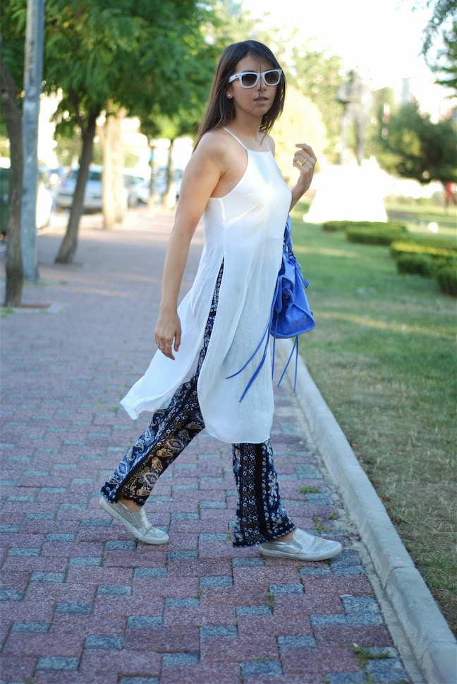zara people, balenciaga bag, dress on pant, street style,blogger style,fashion blogger,trendydolap,glitter sneakers,michael kors shoes