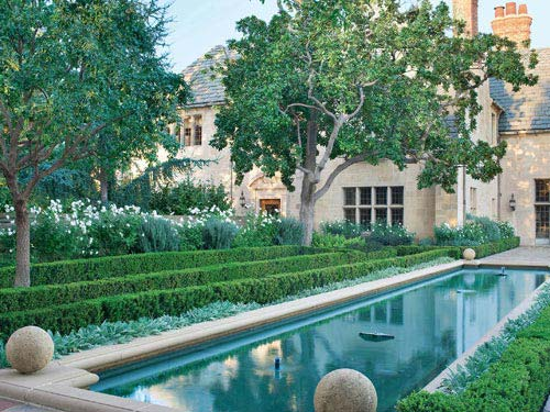 Susan spindler designs greystone estate in beverly hills - Beverly hills public swimming pool ...