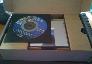 Primera impresión de la caja nada más abrirla