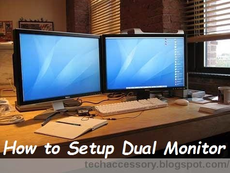 how to connect dual monitors windows 7