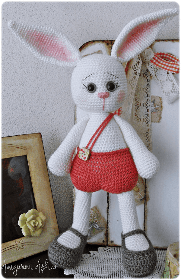 Amigurumi Tav?an Pamuk-Amigurumi Rabbit - Tiny Mini Design