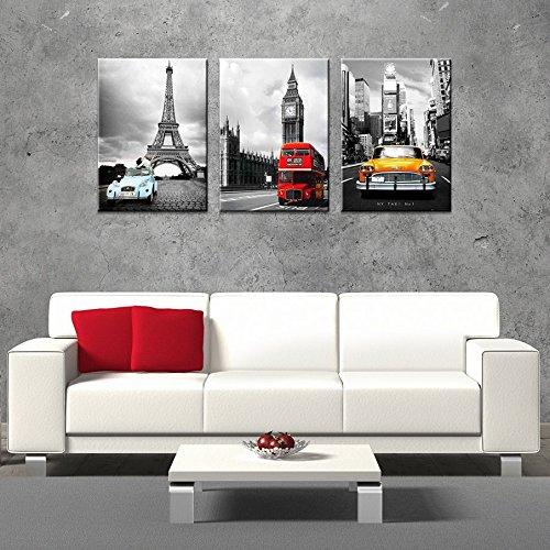 Total Fab: Paris London New York Bedding ~ A World of Big City Dreams
