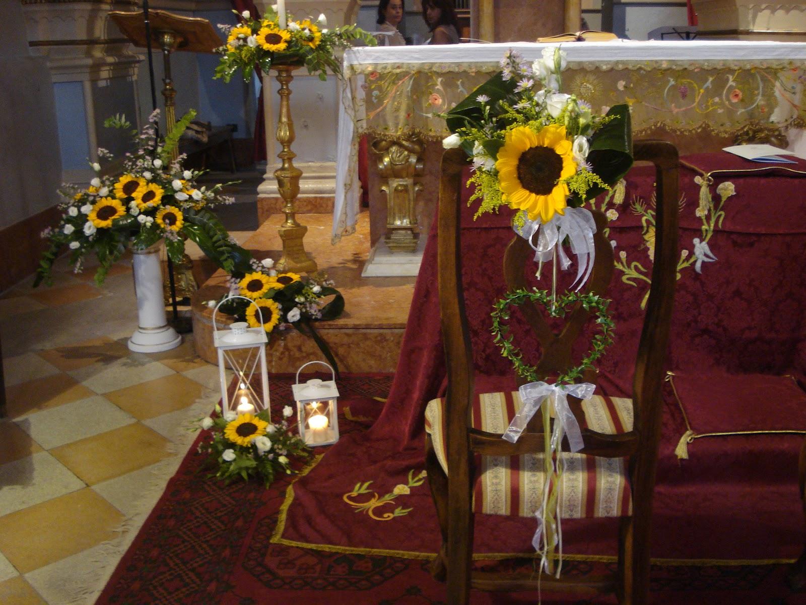 Matrimonio Stile Girasoli : Addobbi chiesa matrimonio con girasoli migliore