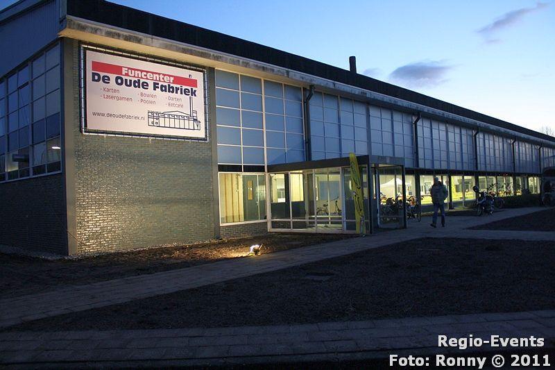 Regio events opening funcenter de oude fabriek for Deuren stadskanaal