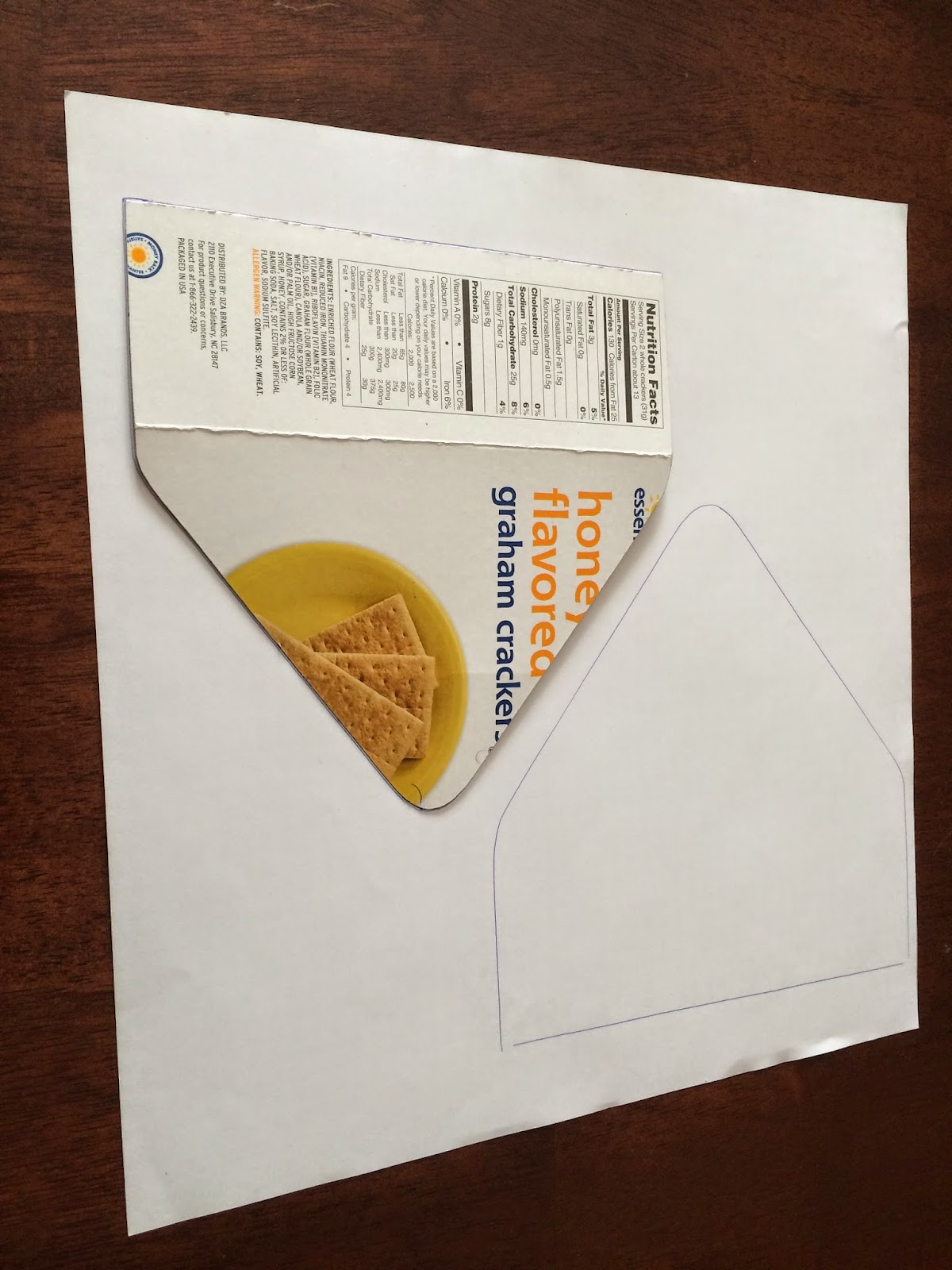 Doeblerghini Bunch:  Envelope Liner - Tracing Template