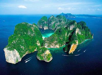 Praia Maya Bay – Tailândia