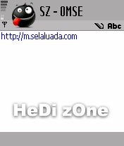 Cara Edit Server Opera Mini S60V2