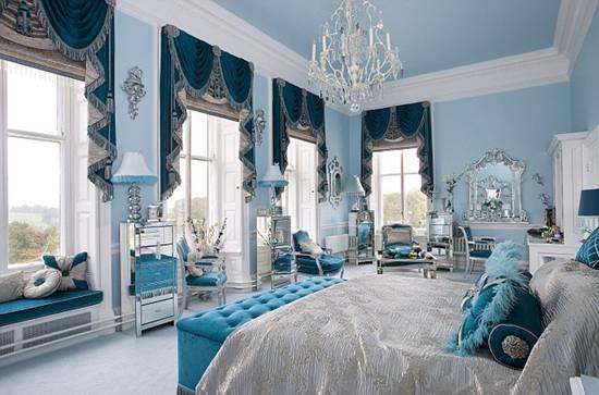 Chambre Adulte Bleu Ciel
