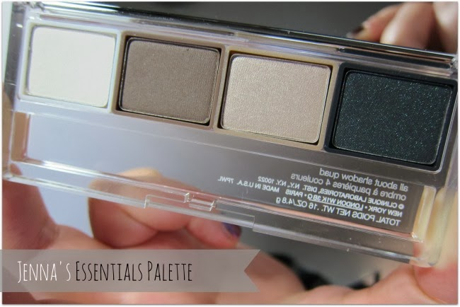 Clinique Jenna's Essentials Eyeshadow Quad