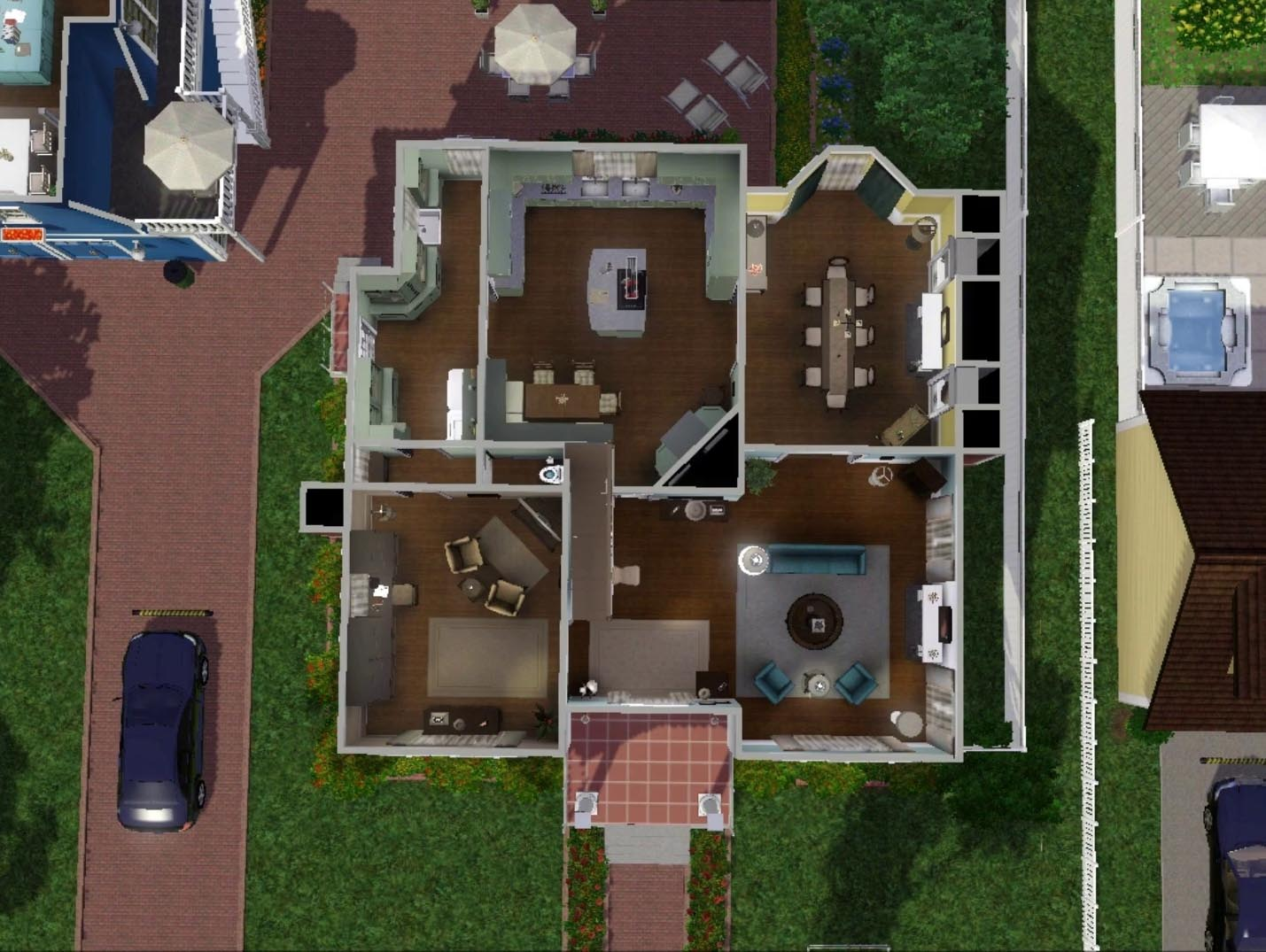 My Sims 3 Blog Bree Van De Kamp House By Wisteriabrayan