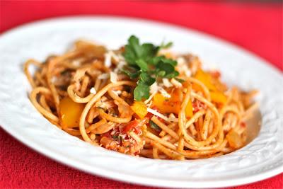 tomato crab pasta