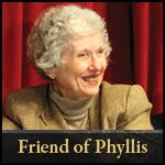 Friend of Phyllis Tickle