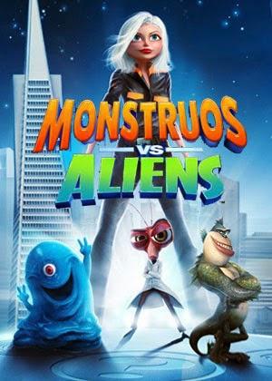 Monstruos vs Aliens (2009)