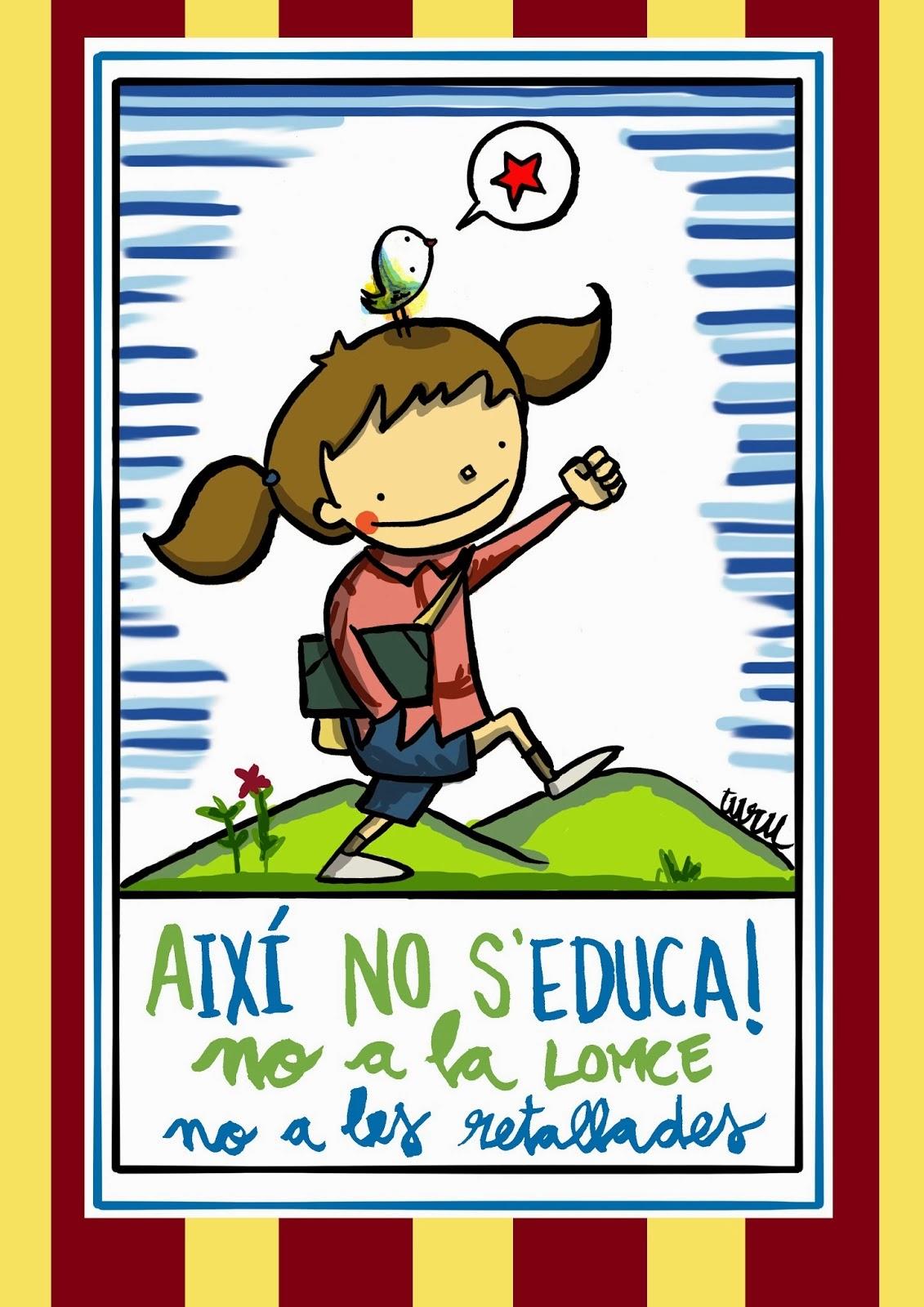 AIXÍ NO S'EDUCA !