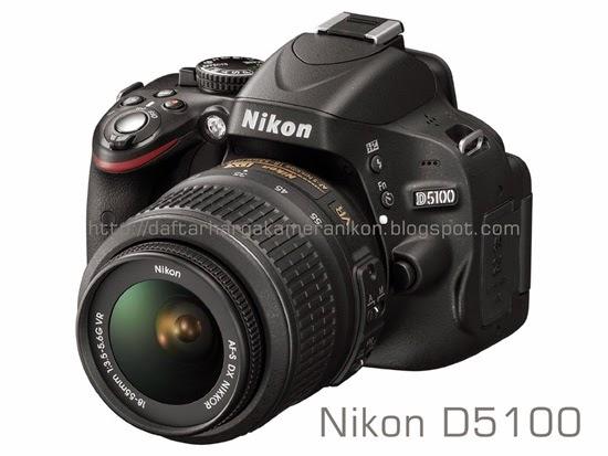 Harga Kamera DSLR Nikon D5100