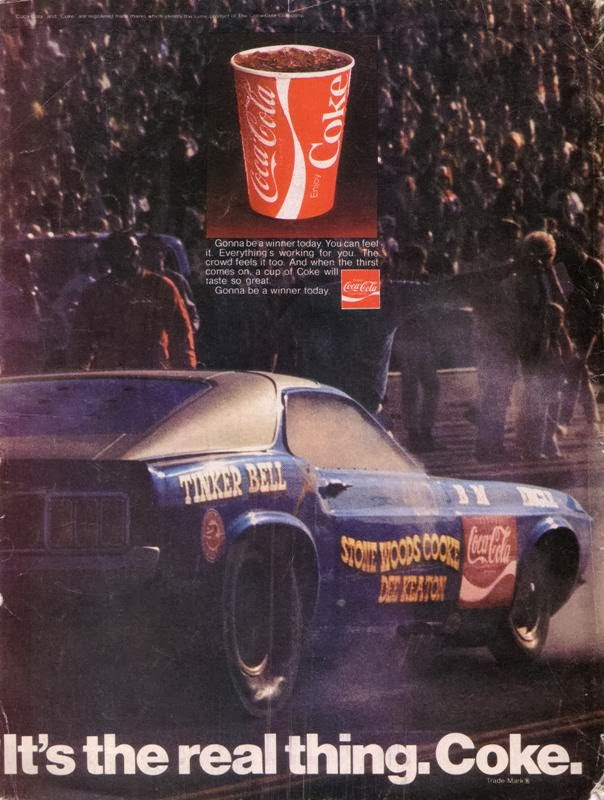 Just A Car Guy: Coca Cola used to be heavily into drag racing.. and ...