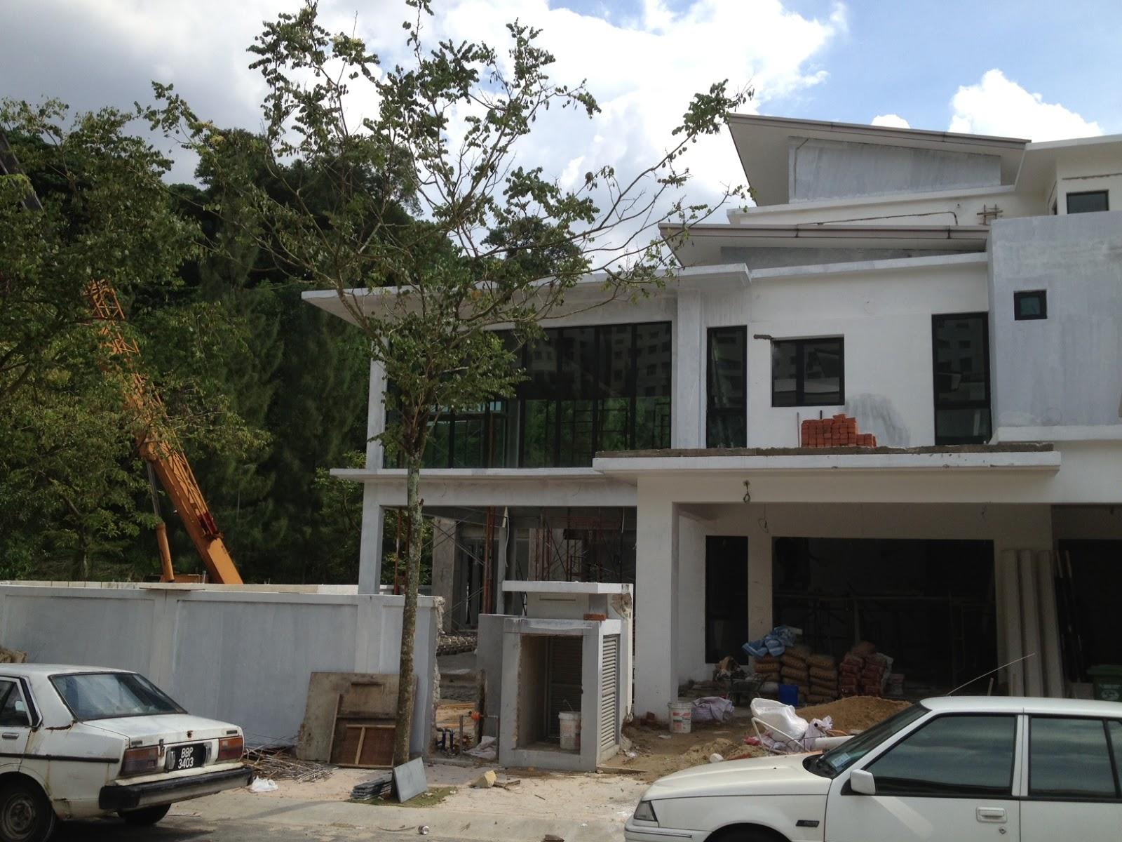 Duo edge architecture design studio terrace renovation in for Design hotel cheras