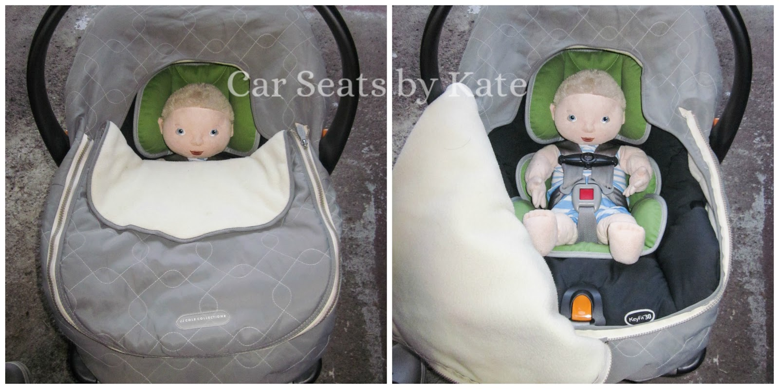 Shower Cap Style Car Seat Cover
