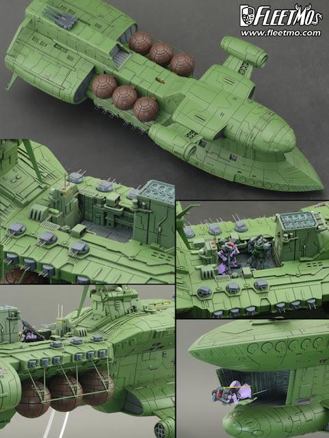 Zeon Fleet UC 0079 Scratch Build