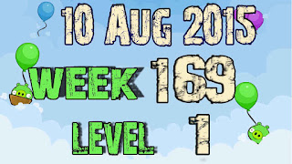 Angry Birds Friends Tournament level 1 Week 169